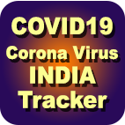 COVID19 Corona Virus Tracker for India