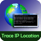 Trace IP address location of any machine